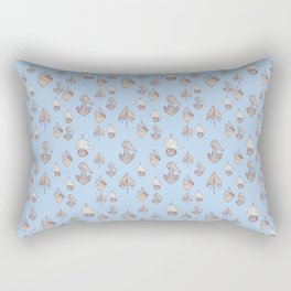 this is a homage to my poodle also an assignment for class<3 Rectangular Pillow