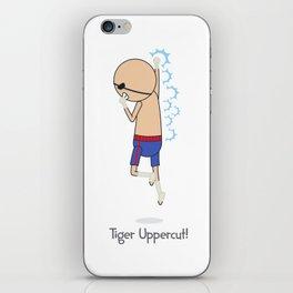 Tiger Uppercut iPhone Skin