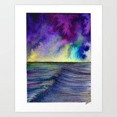 Ocean Movements Art Print
