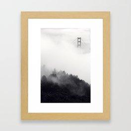 S.F. Fog Framed Art Print