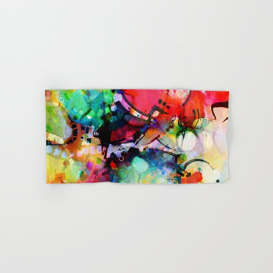 Color Cacophony Hand & Bath Towel