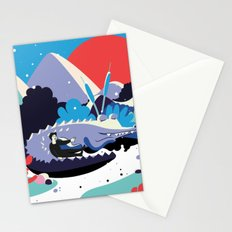 Le Voyage de Léo 2 Stationery Cards