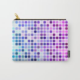 Happy square dots Carry-All Pouch