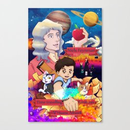 Niels Feynman | New comic cover Canvas Print