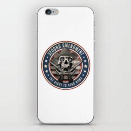 Second Amendment iPhone Skin