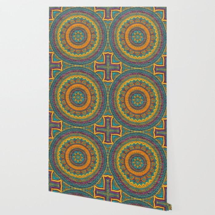 Hippie mandala 76 Wallpaper