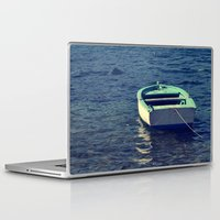 boat Laptop & iPad Skins featuring boat by gzm_guvenc