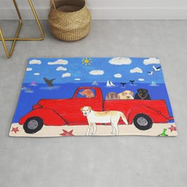 The Salty Dogs Rug