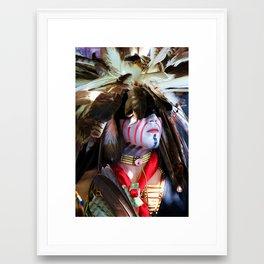 Indian Brave Framed Art Print