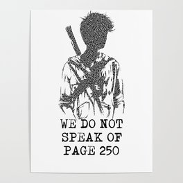 We do not Speak of Page 250 Poster