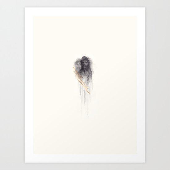 Naga baba Art Print