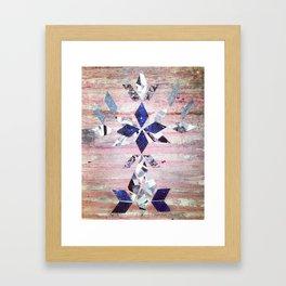 Reflecting on these Stars Framed Art Print