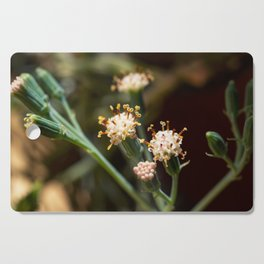 Balsamico white flowers Cutting Board
