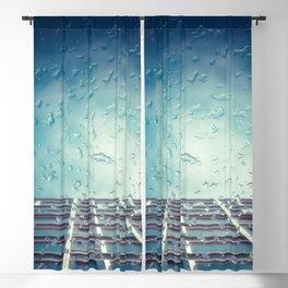 Raindrops Blackout Curtain