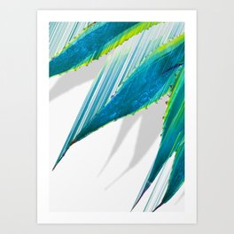 The soaring flight of the agave Art Print