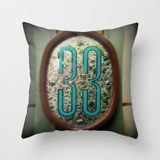 Club 33 Throw Pillow