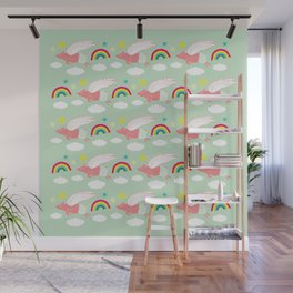Pigs Can Fly! Wall Mural