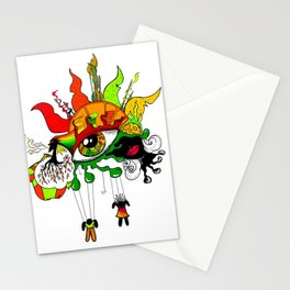 Colour Mix Stationery Cards