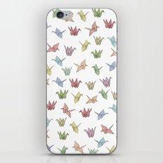 Origami Cranes iPhone & iPod Skin