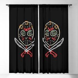 Neon Jason Blackout Curtain