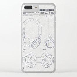 Headphones Clear iPhone Case