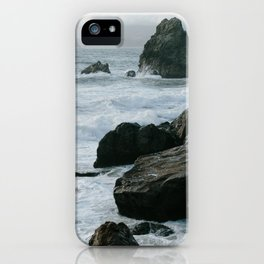 View of San Francisco Bay from Sutro Baths iPhone Case