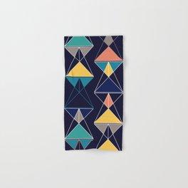 Triangular Affair III Hand & Bath Towel