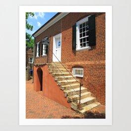 Winston-Salem, NC - Old College Bookstore 2009 Art Print