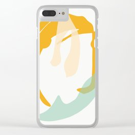Matisse Shapes 8 Clear iPhone Case