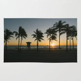 Fort Lauderdale at sunrise Rug
