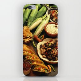 Mexican Food iPhone Skin