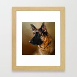 Best in Show - German Shepherd Framed Art Print
