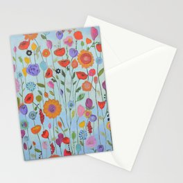 """""""Garden Whimsy"""" Stationery Cards"""