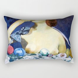 Double Breasted Rectangular Pillow