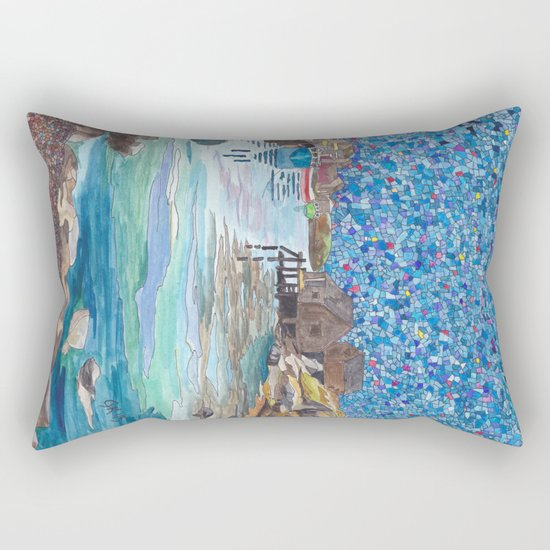 In the Cove Rectangular Pillow