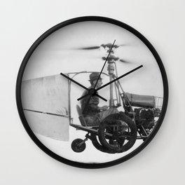 Gyrocopter Wall Clock