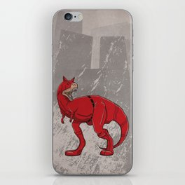 Daredevilnotauros - Superhero Dinosaurs Series iPhone Skin
