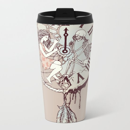 Life is But a Dream Metal Travel Mug