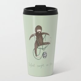 Bigfoot Caught on Film Travel Mug