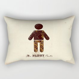 Mr. Fancy Pants Rectangular Pillow