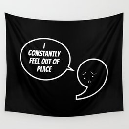 Grammar Police Punctuation Commas Saves Lives Teacher Gift Wall Tapestry