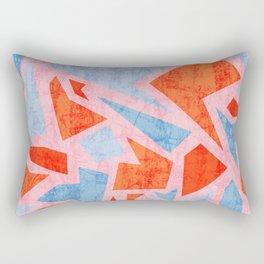 Aged terrazzo 3.2 Rectangular Pillow