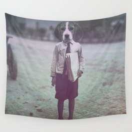 Beagle Boy Wall Tapestry