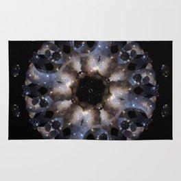 Galaxy mandala #4 Rug