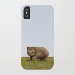 Common Wombat (Vombatus ursinus) iPhone Case