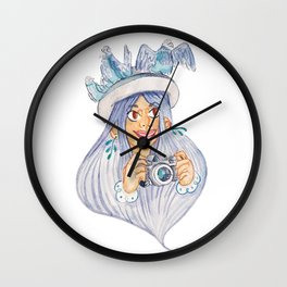 A Tourist Wall Clock