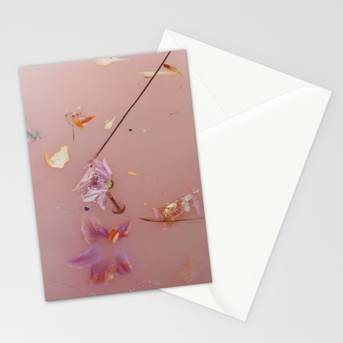 Pink Bath Photoshoot Stationery Cards