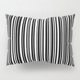 Barcode #1 inverse Pillow Sham