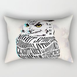 Night Spirit - Owl Rectangular Pillow