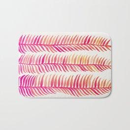 Pink Ombré Seaweed Bath Mat